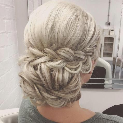 Updo Hairstyles for Weddings to Emphasize the Beauty and Elegance of the Bride 7d95015747cd819f803270497a6fa6d7