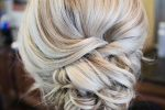 White Blonde, Twisted Updo