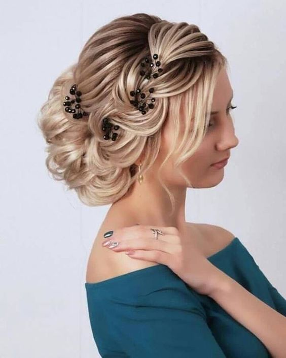 Gorgeous and Blonde Updo