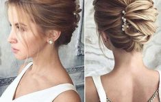 Updo Hairstyles for Weddings to Emphasize the Beauty and Elegance of the Bride 9acd6e2ac01f69cce85787b3a84cd075-235x150