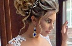 Updo Hairstyles for Weddings to Emphasize the Beauty and Elegance of the Bride ad14fae07b31bf2cd0f78eaa5ea53e92-235x150