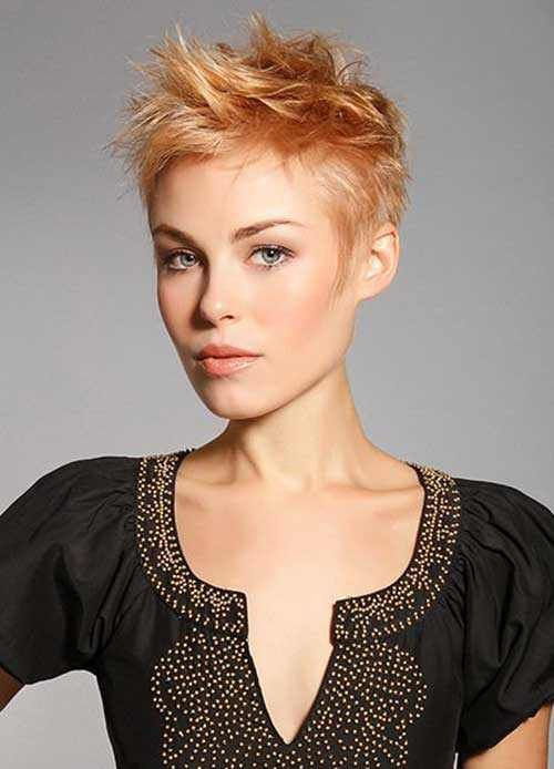 Acicular Textured Short Spiky Hairdo