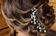Updo Hairstyles for Weddings to Emphasize the Beauty and Elegance of the Bride d8a3cc5b16ccae8601555284213ff124-235x150