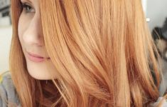 Lightened Golden Copper Hair
