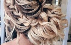 Updo Hairstyles for Weddings to Emphasize the Beauty and Elegance of the Bride e7d4407aa5bb304a347ef2d84f54556c-235x150