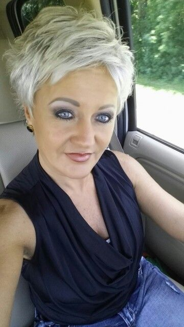 Quirky and Cute, Edgy Layered Pixie