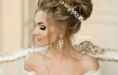 Updo Hairstyles for Weddings to Emphasize the Beauty and Elegance of the Bride f6b3f827339afd70327325d3af1c5676-235x150