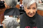 Pixie Do With Side Swept Bangs Hairstyles For Women Over 70