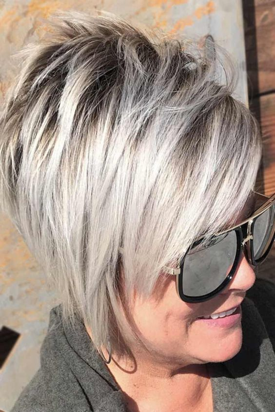 Hairstyles for Women Over 70 to Take Care of Aging Hair and Make You Look Fresh and Decent 4393035a808786a6f4066f97cd751525