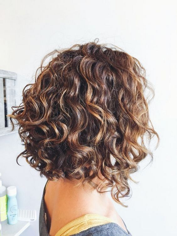 Gentle Wave Perm Hairstyle Short Hairstyles 2019