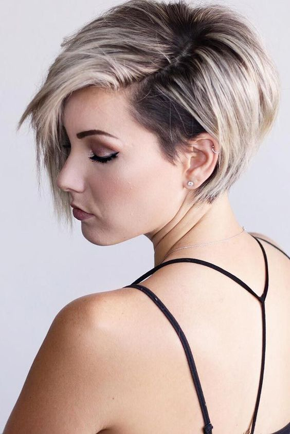 Long Pixie Prom Hairstyle