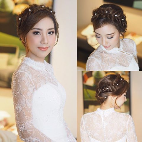 Asian Wedding Hairstyles to Make the Bride Look Flawless and Fabulous for the Big Day 1edbfeb09fb7ef73e5285fd9a004b390