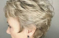 Short Hairdos for Older Women to Liven Your Look Up and Take Years Off of Your Face 20-over-50-short-feathered-shag-235x150