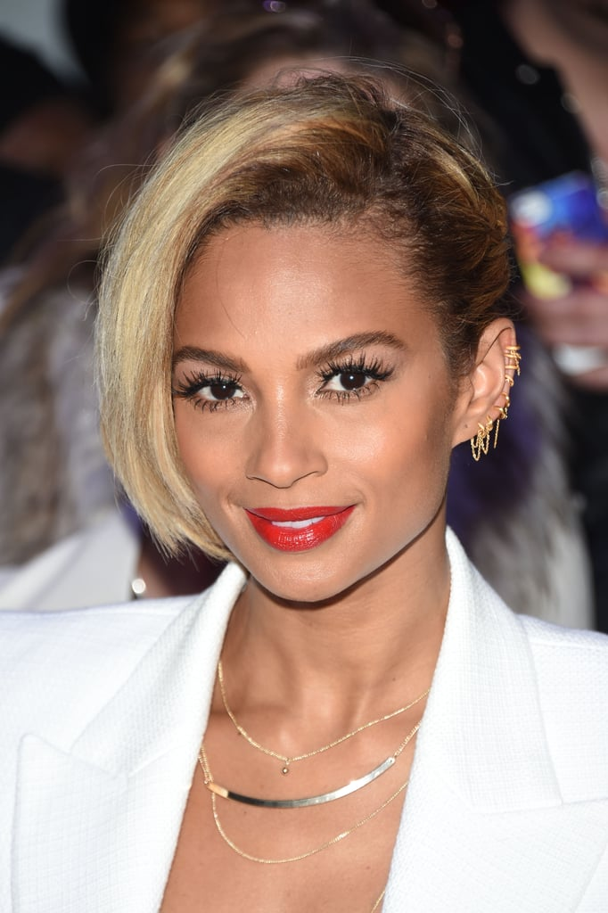 Alesha Dixon Highlighted Short Bob
