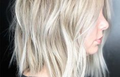 2019 Short Hair Trends for Freaking Cute Look and Manageable Style for All Seasons Amazing-Textured-Blonde-Bob-Haircut-Styles-235x150
