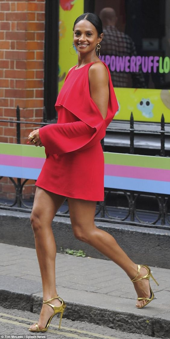 Alesha Dixon Sleek Formal Hairstyle