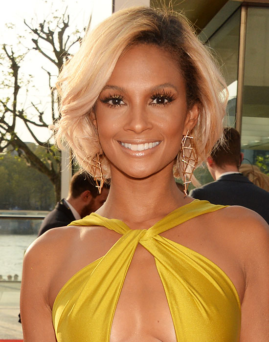 Alesha Dixon Subtle Layered Bob Do
