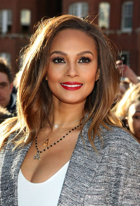 Alesha Dixon Hairstyles to Take Into Account for Bold and Often Dramatic Appearance
