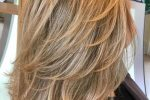 Subtle Layered Blonde Do