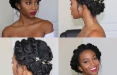 7 Awesome But Easy African American Wedding Hairstyles 08b2b03fc75dd6e4f858914dba16c977-235x150