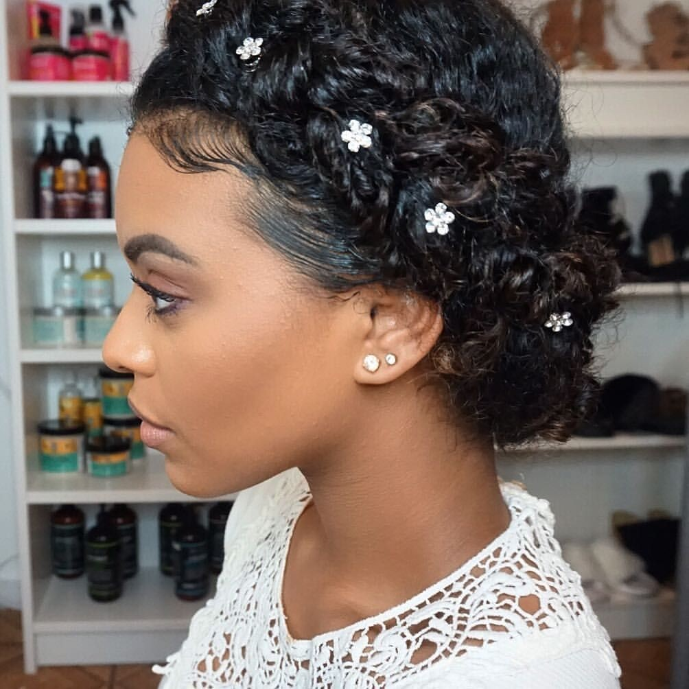 Low Bun with Baby Hair