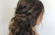 5 Most Impressive Medium Hairstyle for Wedding Day a0ef703990b0c1d3206af65fbc1327d4-235x150