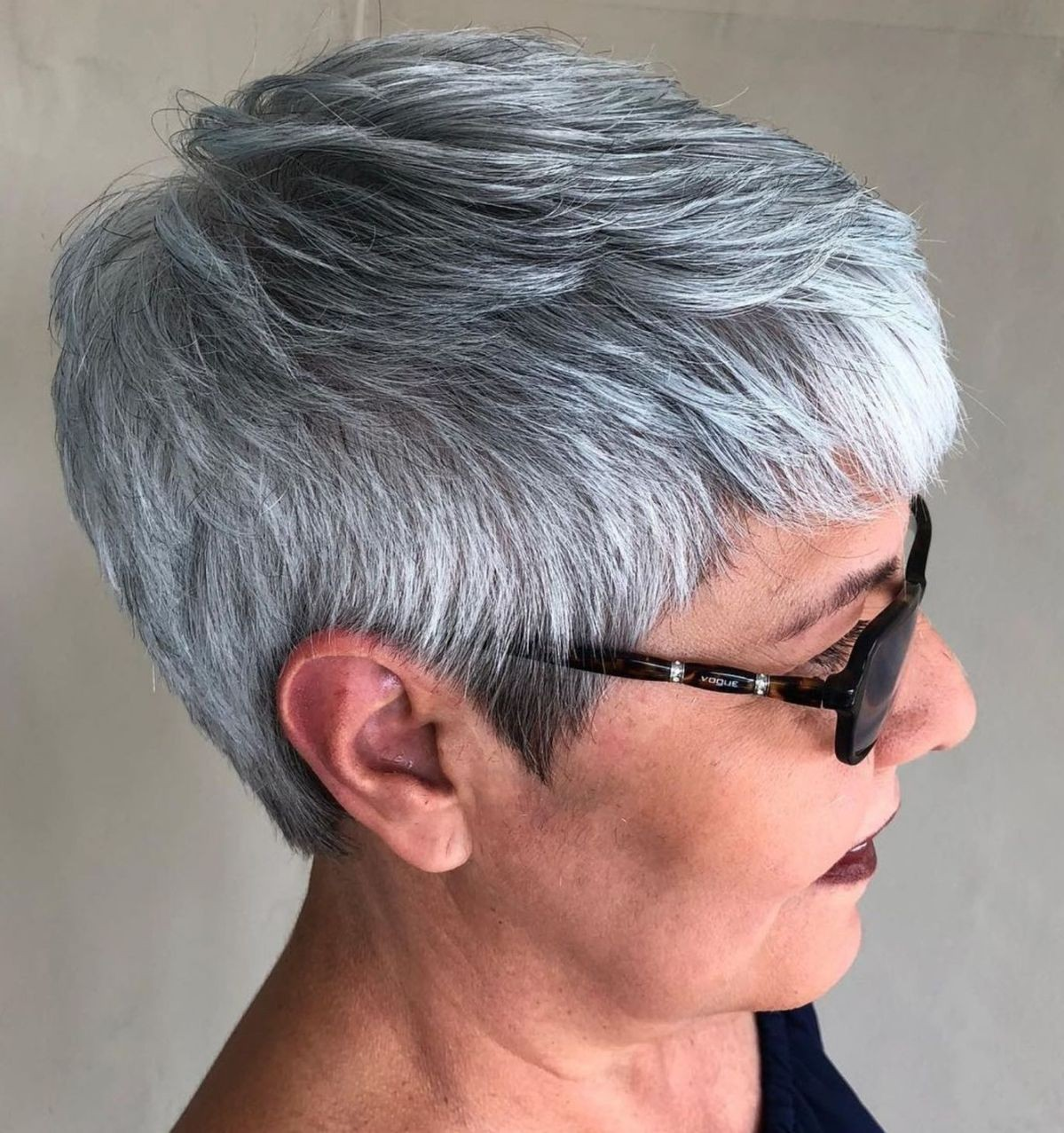 Silver Gray Pixie