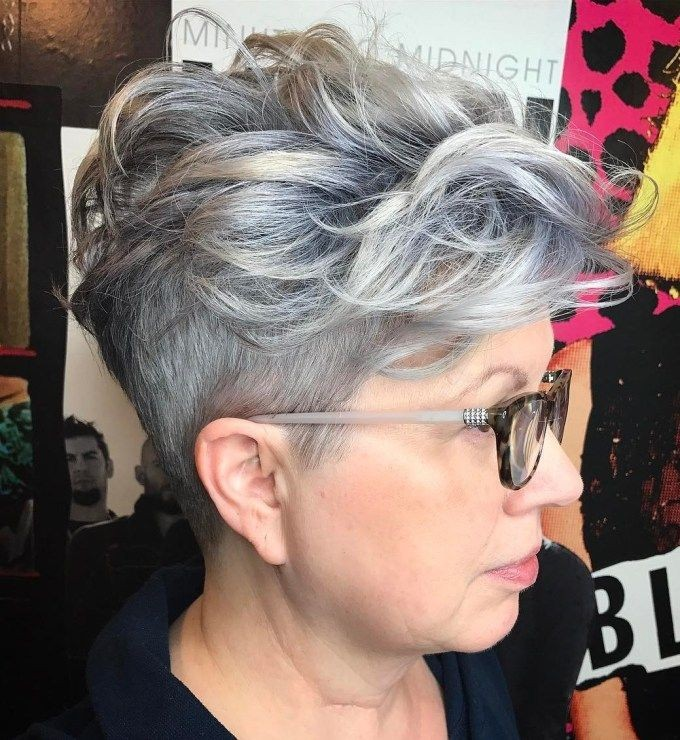 Sassy Pixie with Trimmed Sides & Long Top