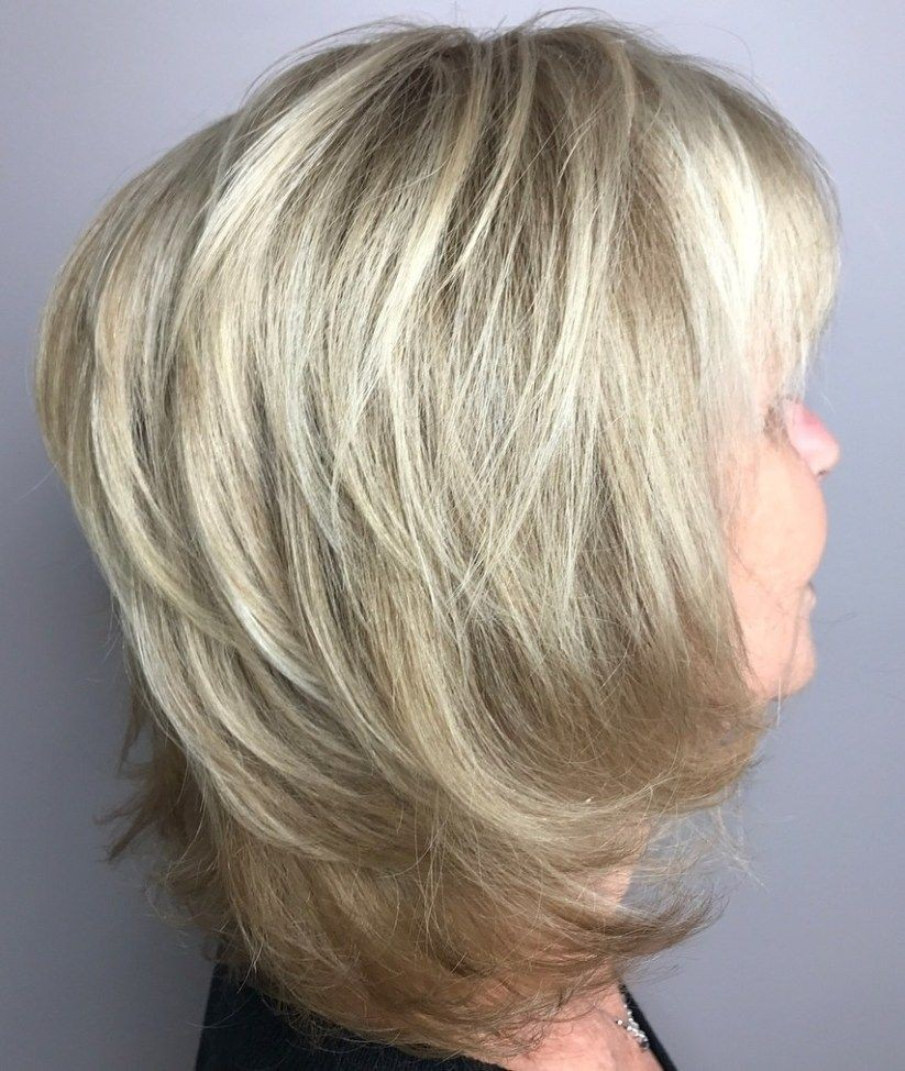 Chin-length Hairstyle with Elongated Back