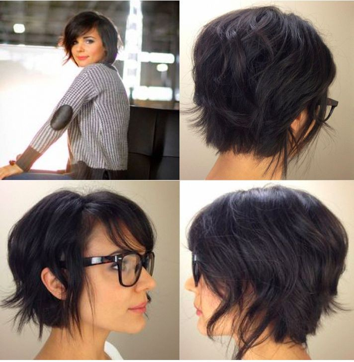 Funky Pixie Haircut with Long Sideburns