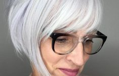 8 Stunning Women's Hairstyles for Gray Hair to Look Younger 3dba168c12a978e16250454327e90acb-235x150