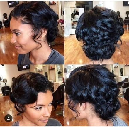 Short Hair Braids Up Do