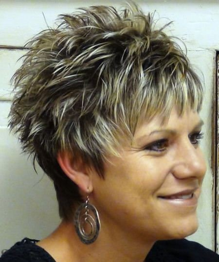Slicked & Spiked Pixie Cut