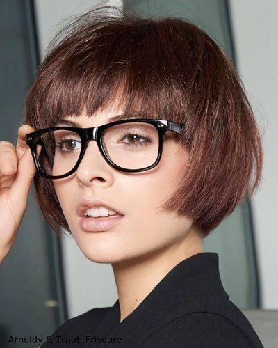 6 Different Hairstyles for Women with Glasses that Looks Perfect 752cf5d636e2853741aeea1a713b0c7d