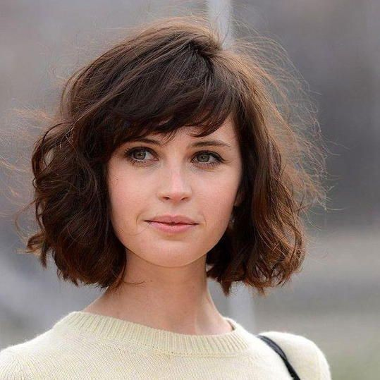 Natural Side-Swept Bangs