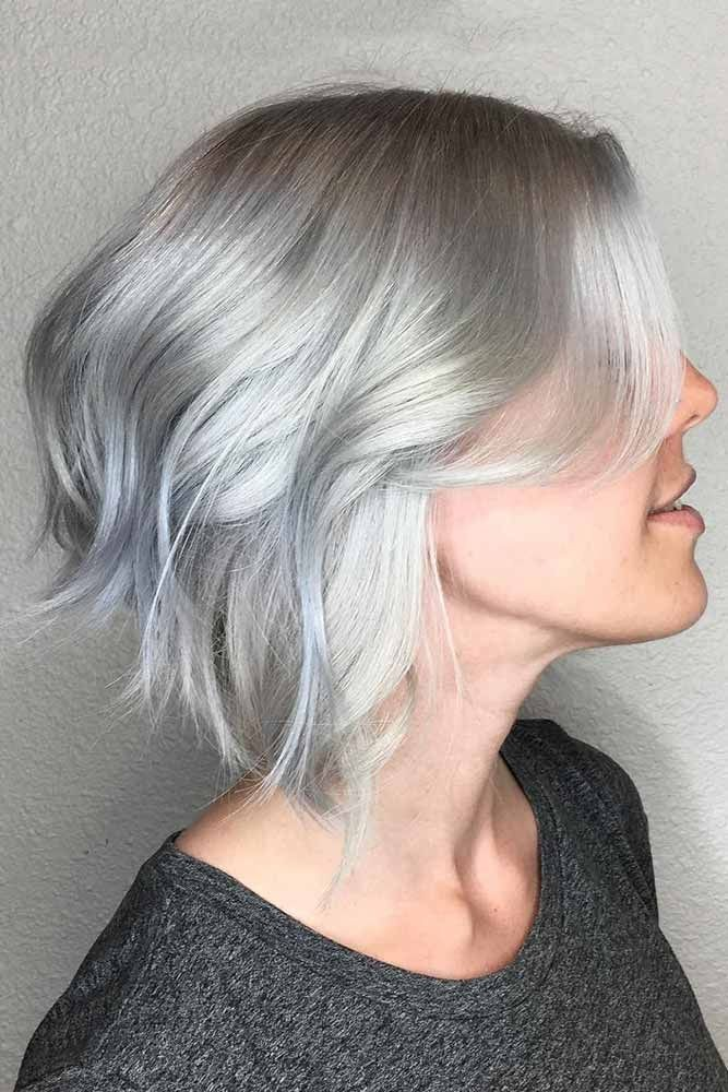 8 Stunning Women's Hairstyles for Gray Hair to Look Younger c19fa2754a515701bfa108e10e8677d7