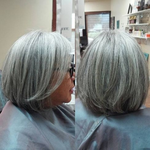 8 Stunning Women's Hairstyles for Gray Hair to Look Younger cc9c285c7183037f9d0fba5cc0361951