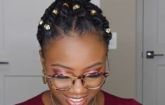 5 Awesome Short Braids Hairstyles for Black Women that is Easy to Do fe14080ab55b6a06f327ebca121a6d05-235x150