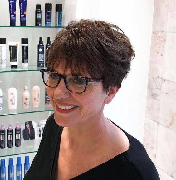 Wedge Hairstyle for Women Over 60 3