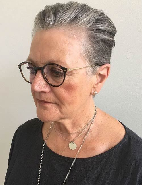 Here are the Best Short Hairstyles of 2019 for Women Over 60 9b0cb18aad1454bbd7eb95b21d5dc513-12
