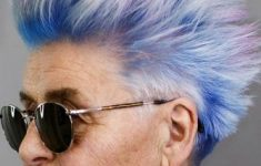 short spiky fade haircut for women over 60 4