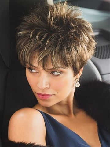 Voluminous Spiky Cut Short Hairstyles 2020