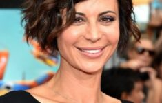 Timeless Short Layered Haircuts that Gorgeous for Older Ladies in 2020 Asymmetric-layered-wavy-haircut-3-235x150