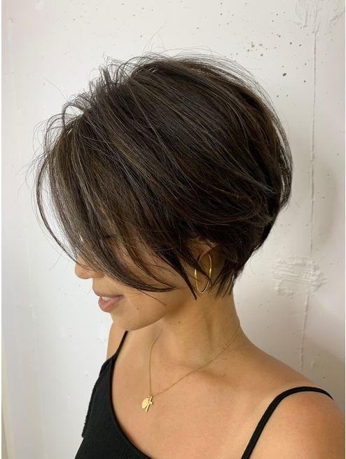 Types of Wedge Haircut Style that Perfect for 2020 and Beyond Medium-wedge