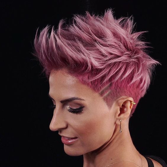 40 Different Types of Short Spiky Haircuts that Look Awesome in 2020 Punk-rock-spiky-cut
