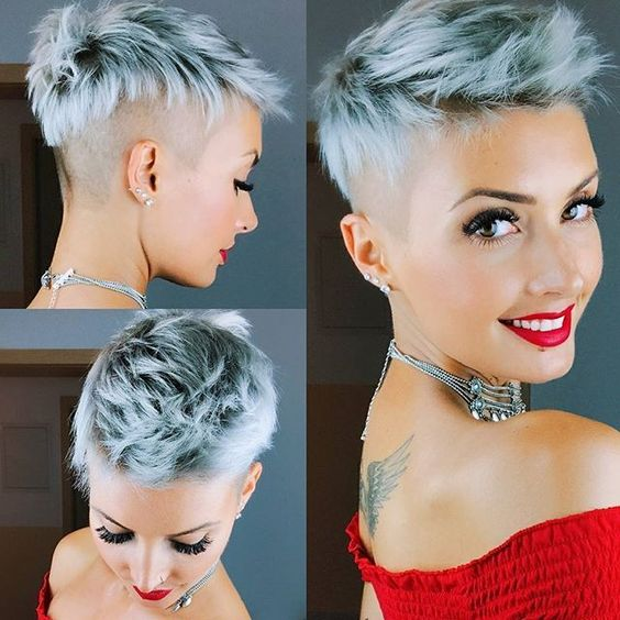 40 Different Types of Short Spiky Haircuts that Look Awesome in 2020 Shaved-faux-hawk