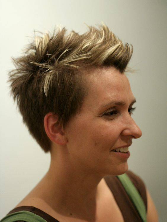 40 Different Types of Short Spiky Haircuts that Look Awesome in 2020 Spiky-faux-hawk