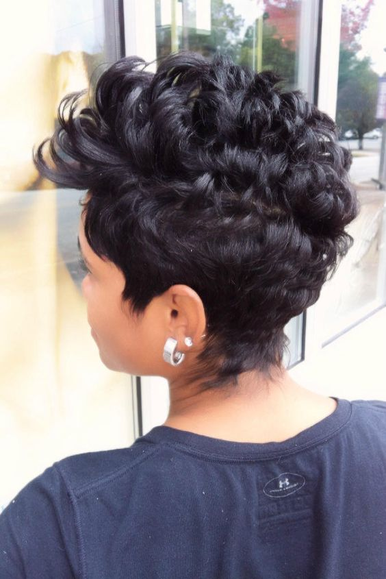 40 Different Types of Short Spiky Haircuts that Look Awesome in 2020 Spiky-finger-waves-hairstyle