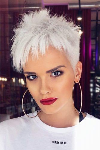 40 Different Types of Short Spiky Haircuts that Look Awesome in 2020 Tapered-spiky-pixie