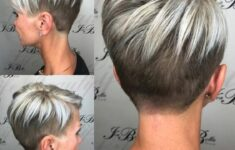 Types of Wedge Haircut Style that Perfect for 2020 and Beyond Very-short-wedge-3-235x150